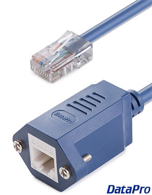 Panel-Mount Ethernet RJ45 CAT-6
