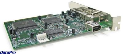 USB & IEEE-1394 FireWire Card -- DataPro