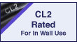 CL2 In-Wall Rated
