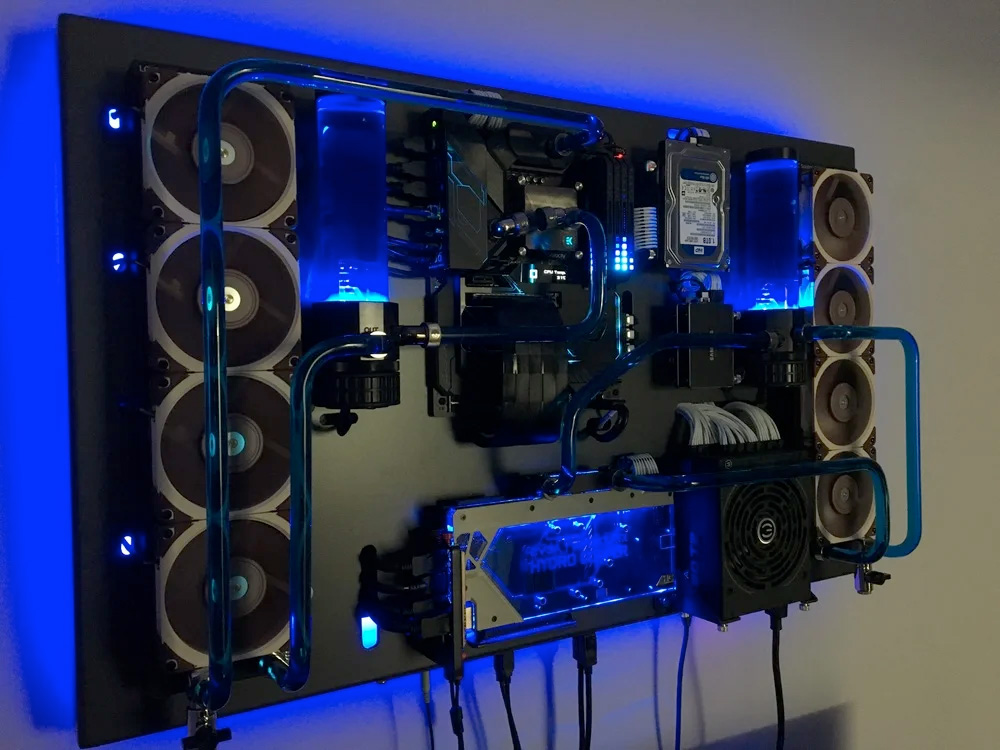 Customer Highlight: Watercooled Gaming PC