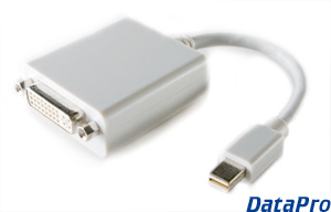 Mini-DisplayPort to DVI-D Adapter