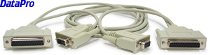 RS232 Null Modem Cable 9 & 25