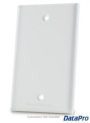 Blank 1 Gang Wall Plate Datapro