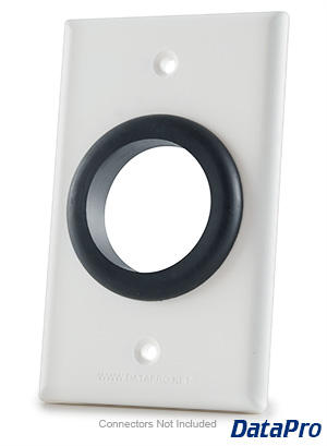Wall Plate With Grommet Hole Datapro