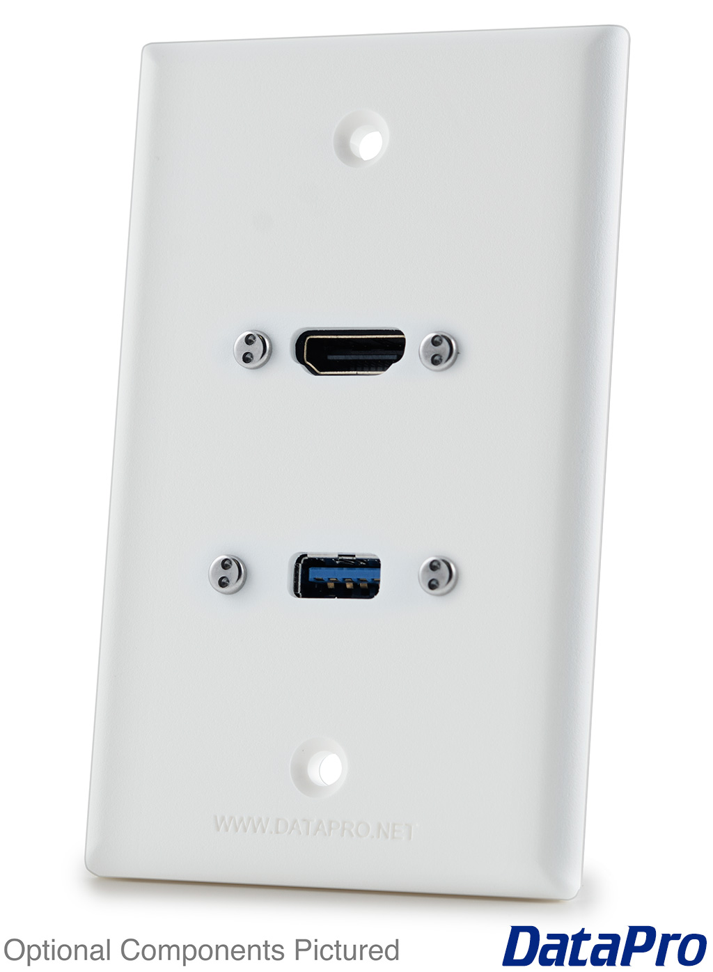 HDMI and USB Wall Plate -- DataPro