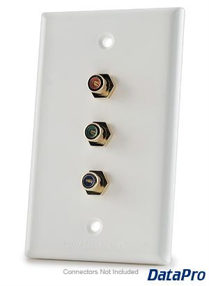 Rca Component Wall Plate Datapro