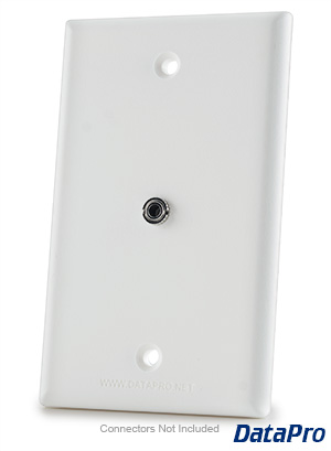 3.5mm Stereo Audio Wall Plate