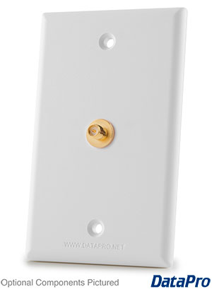 SMA or RP-SMA F-F Wall Plate