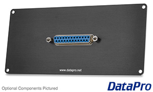 DB25 Horizontal Plate