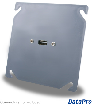 USB Industrial Wall-Plate