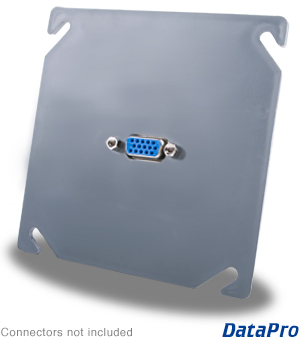VGA Industrial Wall-Plate