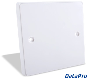 Blank European Uk Wall Plate Datapro