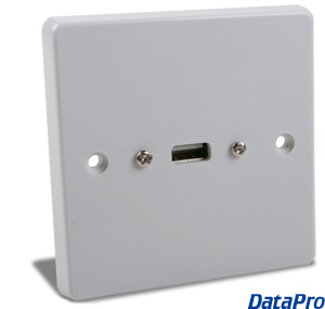European USB Wall-Plate
