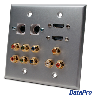 Media Panel For Hd Home Theater Datapro