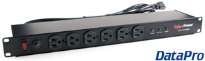 Rack-Mount Power Strip w/Surge 12-Port