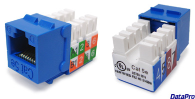 Keystone Ethernet Cat-5e Jack