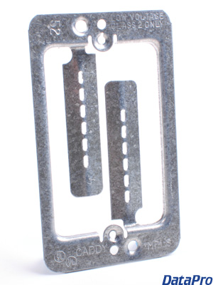 Wall Plate Caddy Fastener