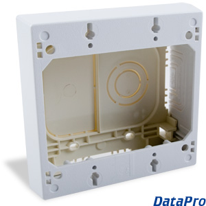 Surface Mount Box 2 Gang Datapro