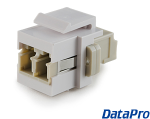 Fiber Optic Keystone Coupler LC/LC