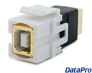 Keystone Coupler USB Type B