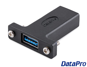 Panel Mount USB 3 Type-A Coupler F-F