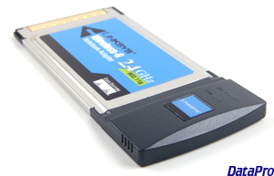 Wireless PCMCIA 802.11G Linksys