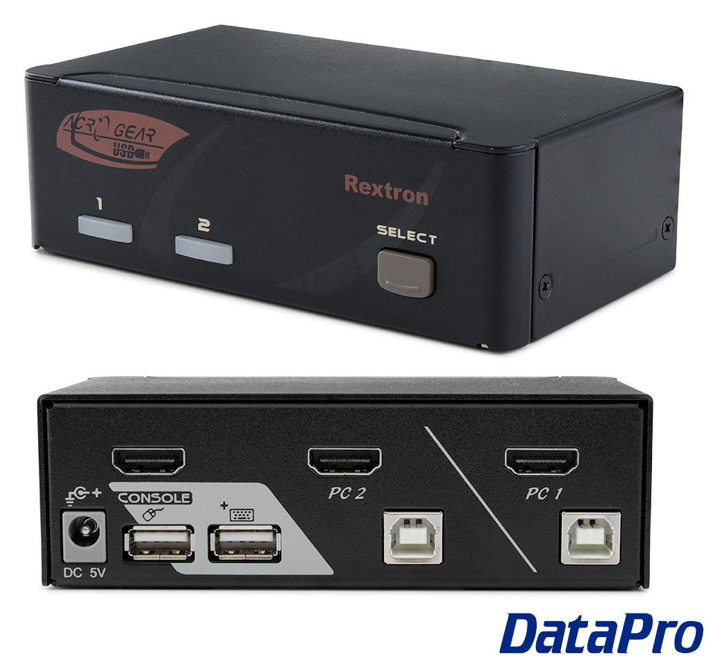 KVM Switches Rextron HDMI USB Switch 2 And 4 Port