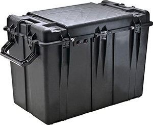 Pelican 0500 Case With Preinstalled Panel Brackets