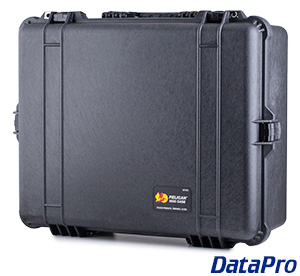 Pelican 1600 Case With Preinstalled Panel Brackets