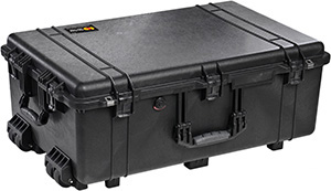 Pelican 1650 Case With Preinstalled Panel Brackets