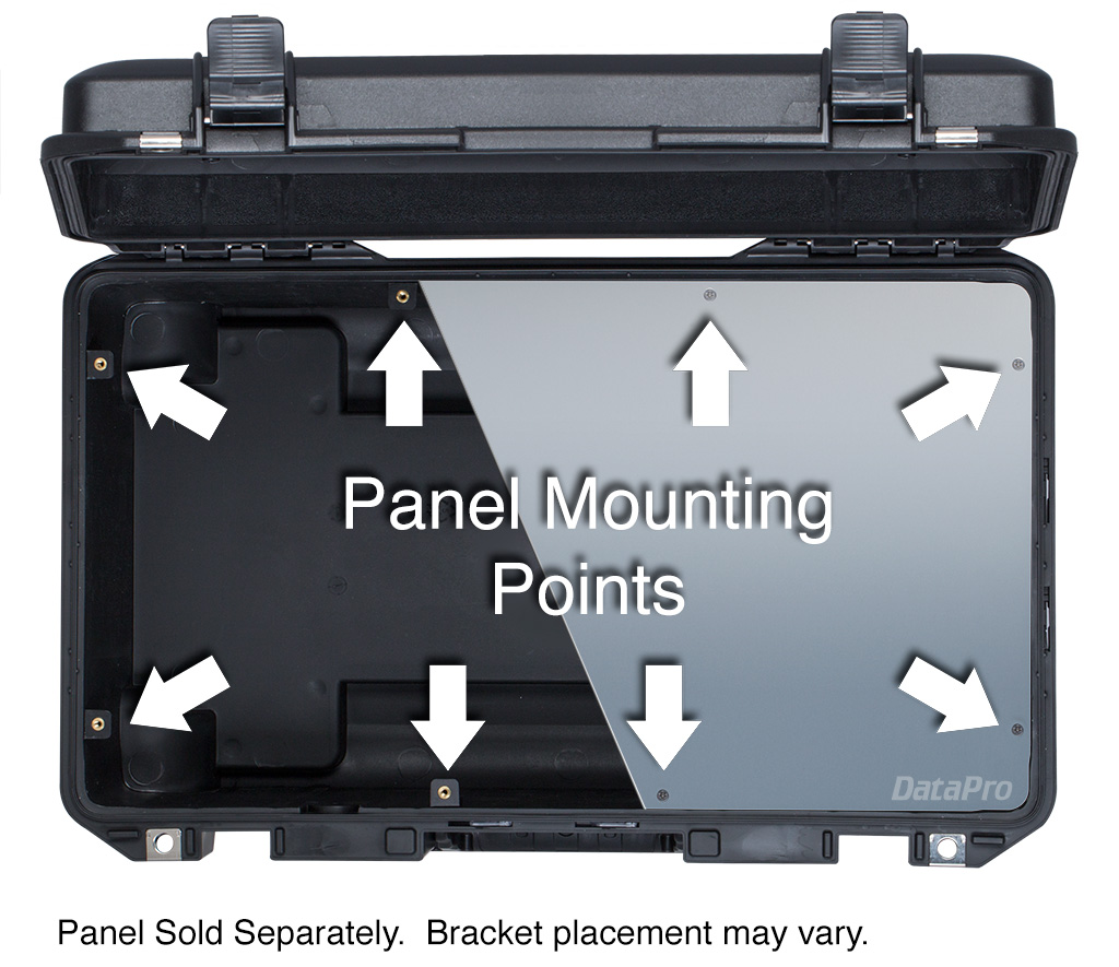 Pelican Case with Panel Mounts
