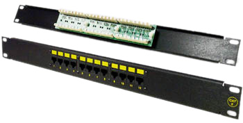 Patch Panel for Cat-5e Ethernet