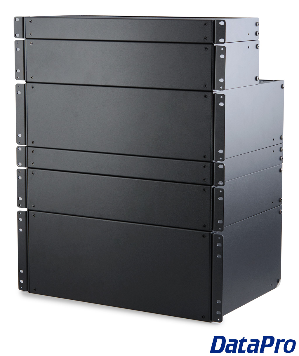 Rack Mount Enclosures : Rack mount enclosure cases blank datapro
