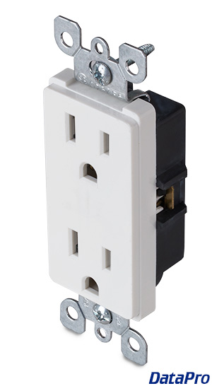 Power Outlet Decora Duplex 125v/15A