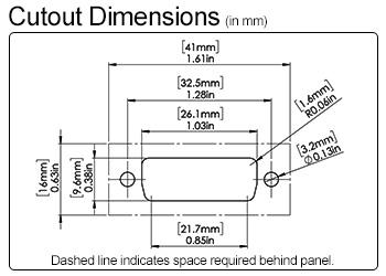 Dvi Panel Mounting Coupler Datapro