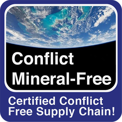 Conflict Mineral Free Sourcing and Manufacturing