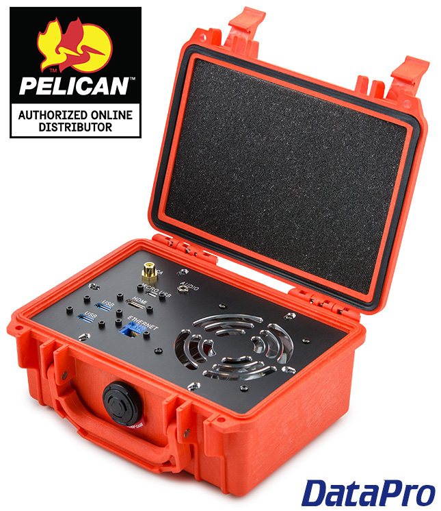 Pelican Case with Panel