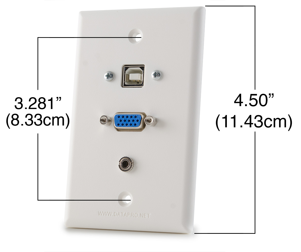 Gang Plate And Switch Plate Mounting Dimensions