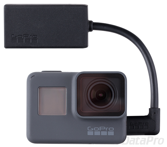 GoPro HERO5 and Mic Adapter